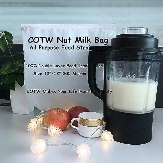 Cotw multiusos Nut Milk Bag 12