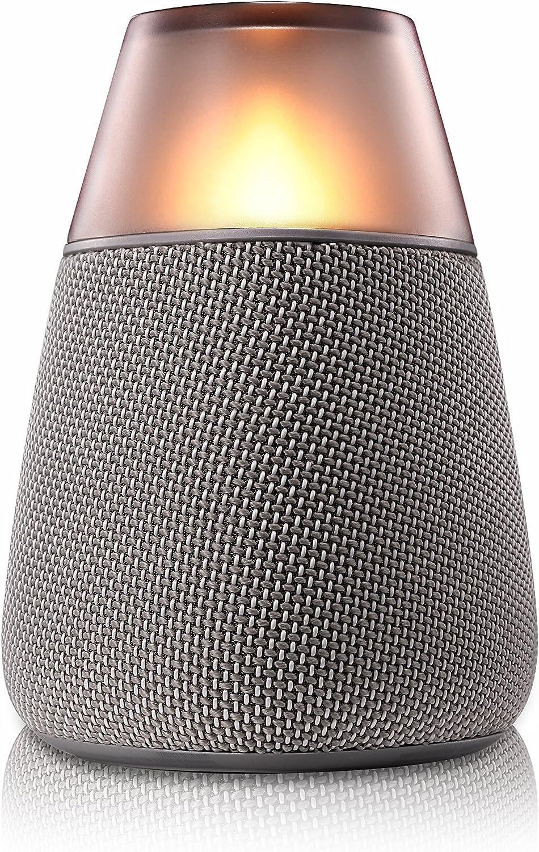 LG PH3 - Altavoz inalámbrico (Multi Bluetooth, Modo de iluminación LED, Sonido envolvente con alta fidelidad) Gris