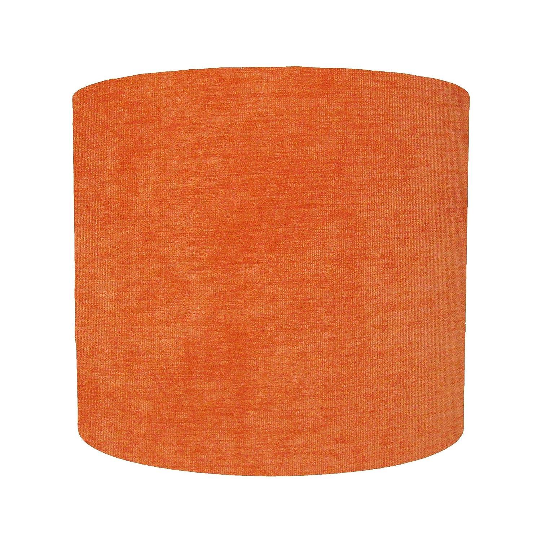 Orange Velvet Lampshade