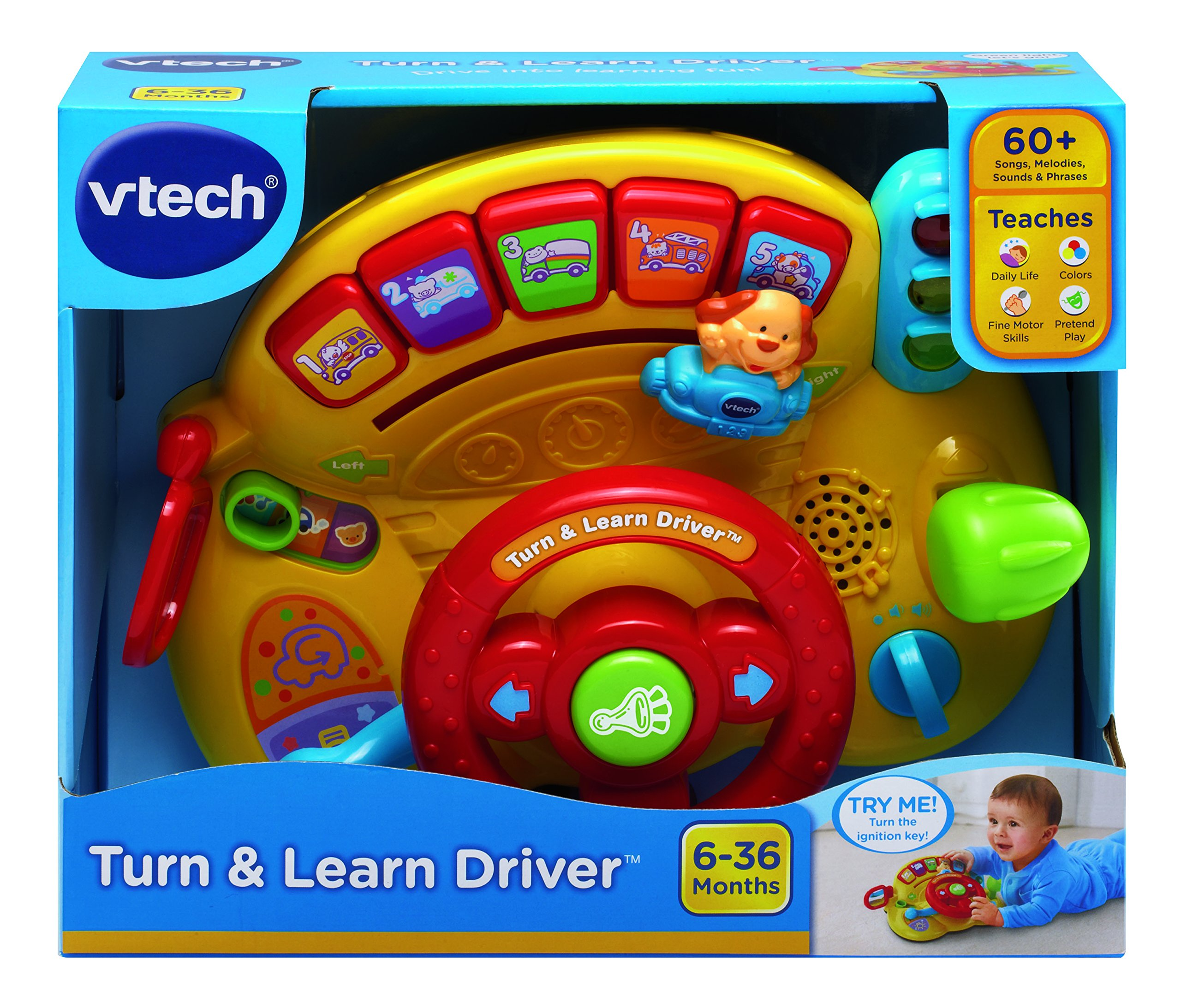 VTech Turn and Learn Driver by VTech (Image #5)