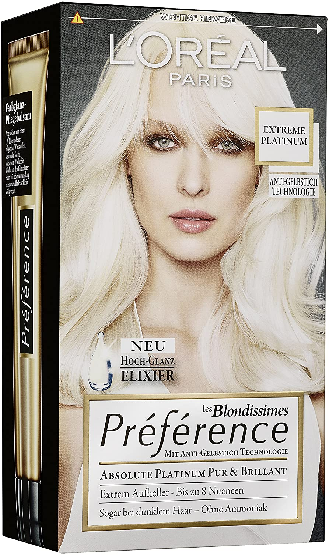 LOréal Paris Préférence Absolute Platinum Extreme - Líquido para el platino (3 unidades)