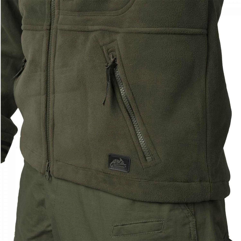Olive Green//PL Woodland Helikon-Tex Infantry Jacke Fleece