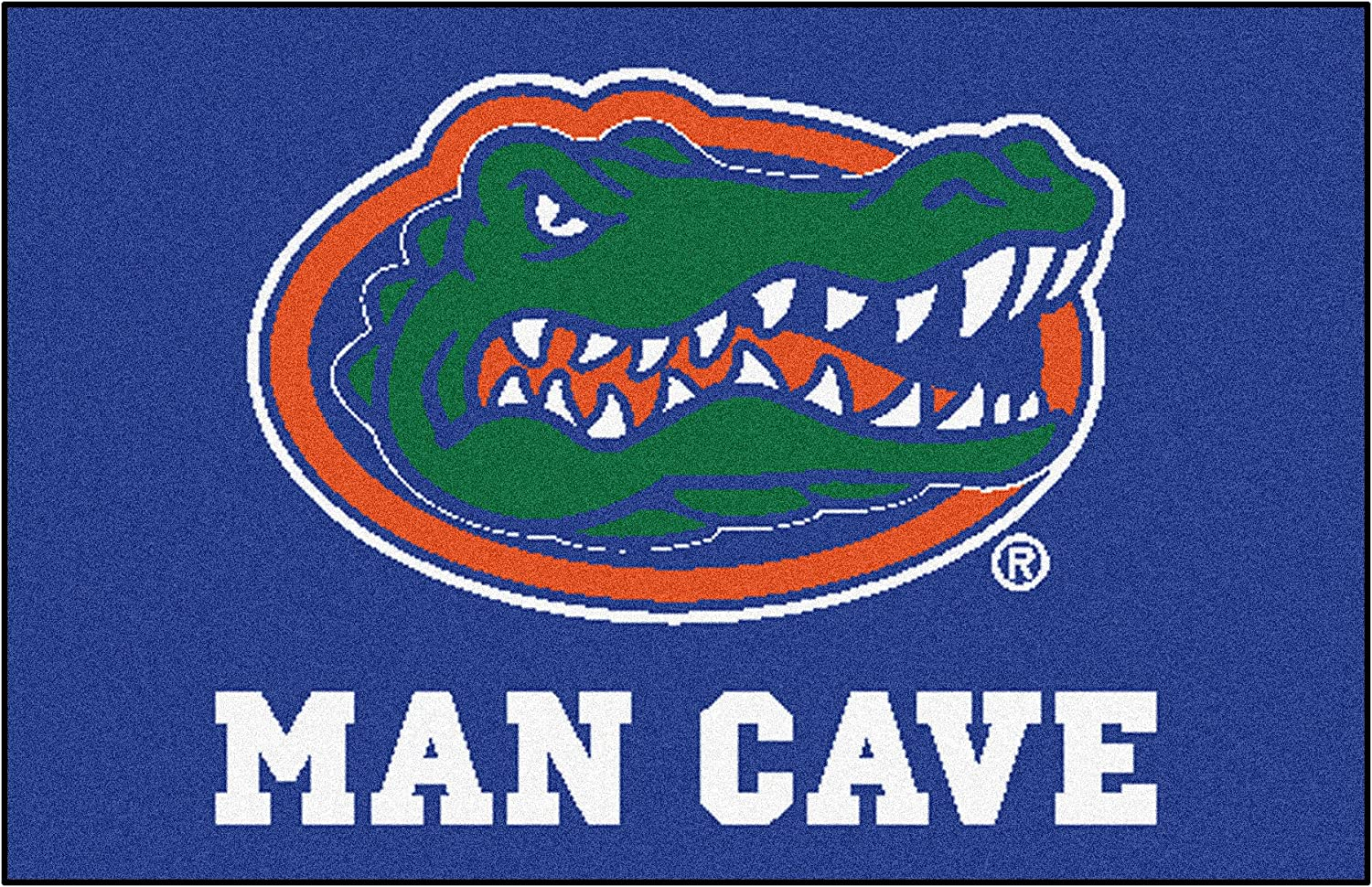 FANMATS 14632 University of Florida Nylon Universal Man Cave Starter Rug