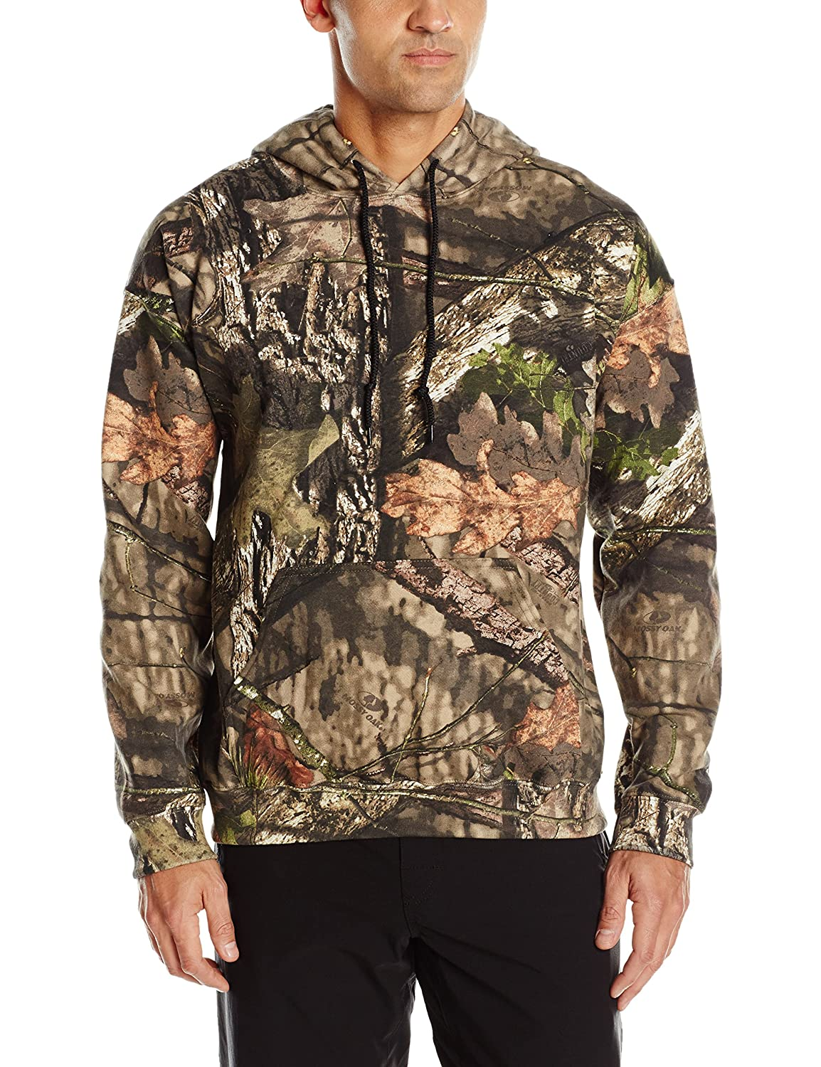 c3810155adc16 Amazon.com   Mossy Oak Men s Camo Hoodie   Sports   Outdoors