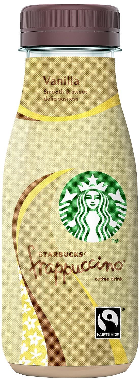 Starbucks - Frappuccino Vanilla - Bebida con Café - 250 ml: Amazon.es: Alimentación y bebidas