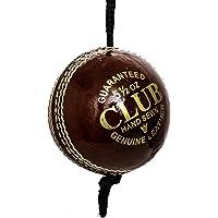 Slazenger League Cricketball mit pflanzlich gegerbtem Leder und geformter Kork-Mitte