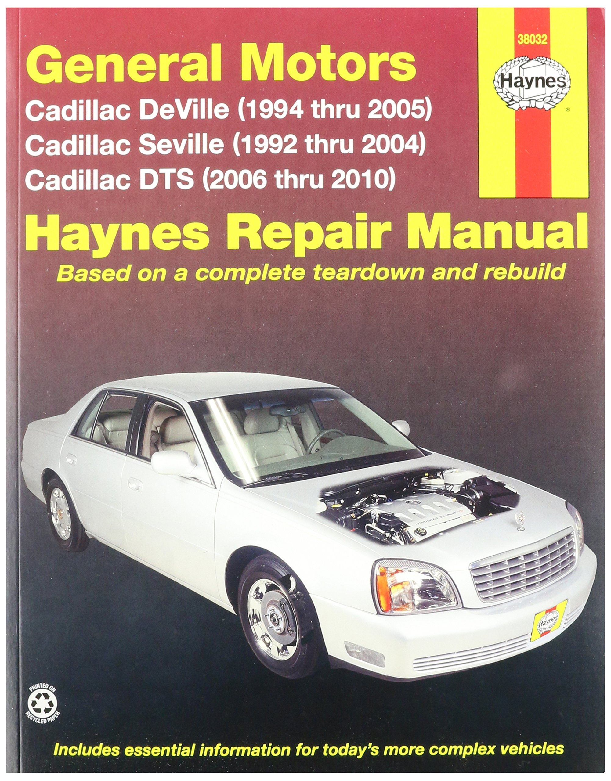 Haynes General Motors: Cadillac DTS, Deville and Seville (92-10) Manual  (38032): 0038345380327: Amazon.com: Books