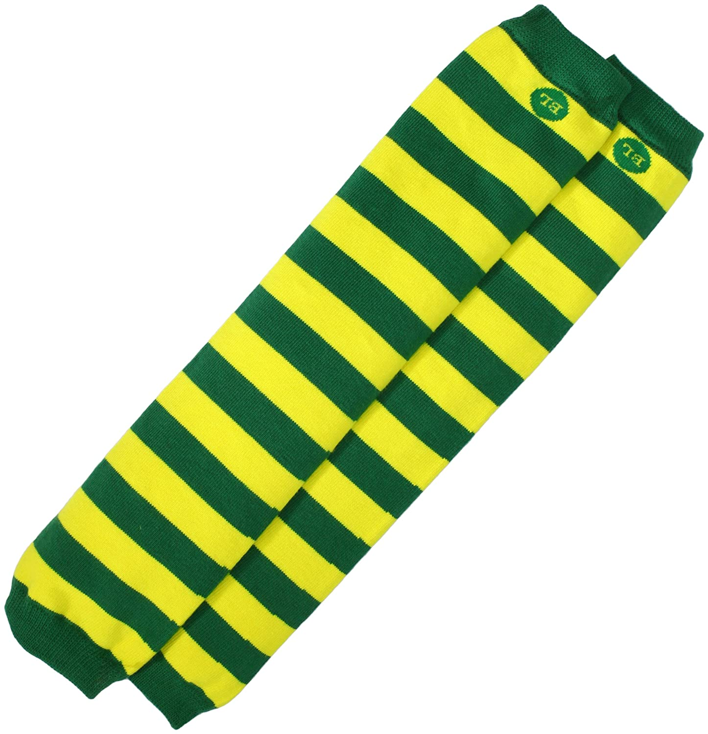 BabyLegs Unisex-Baby Infant Printed Color Arm And Leg Warmers, Yellow/Green, One Size BL12-0147