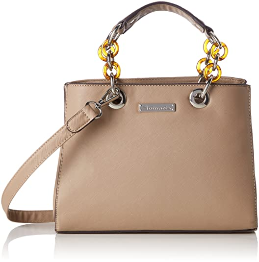 Tamaris Damen Rania Business Bag Tasche, Beige (Pepper