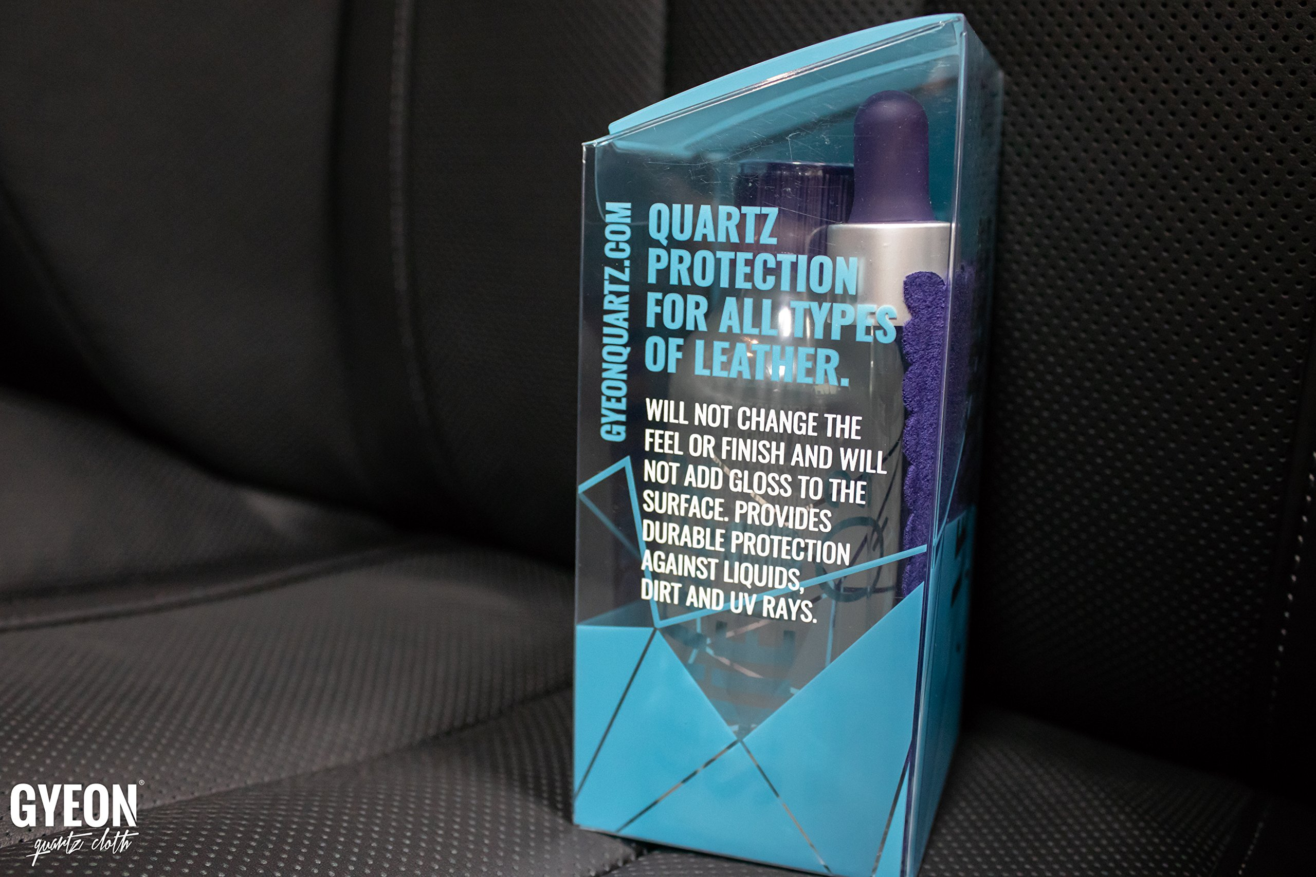 GYEON Quartz LeatherShield 50ml by GYEON quartz Cloth (Image #3)