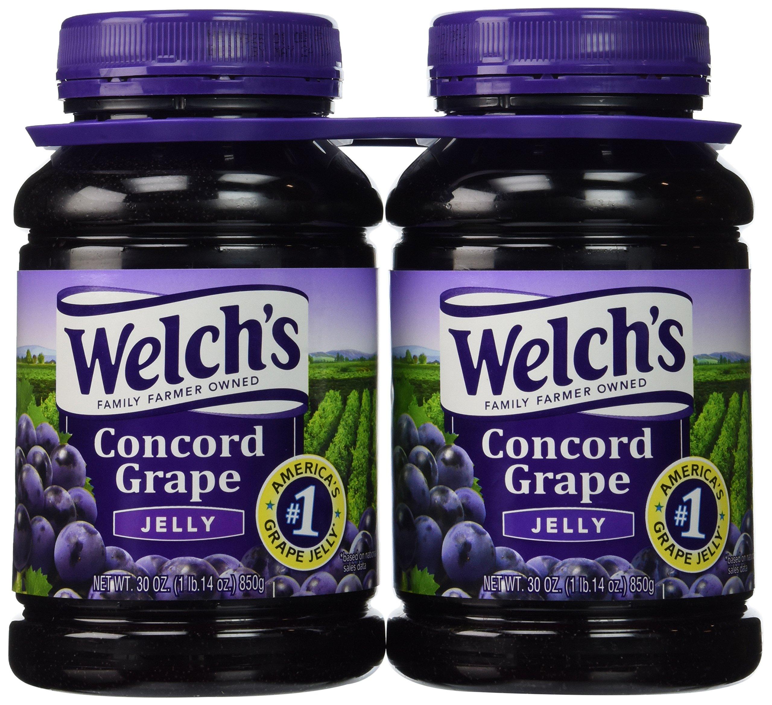 Welch's Concord Grape Jelly (30 oz., 2 pk.)