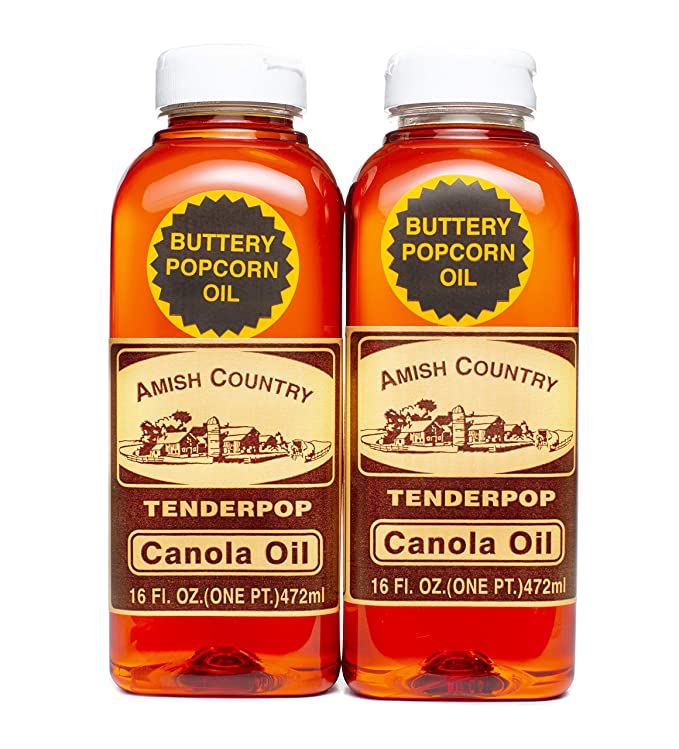 Amish Country Popcorn Butter Flavored Canola Oil