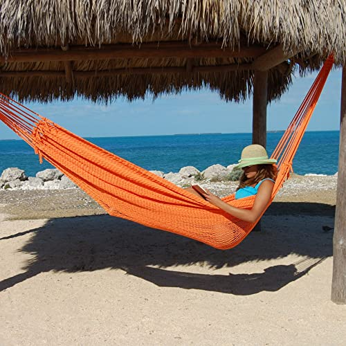 Double Mayan Hammock Orange