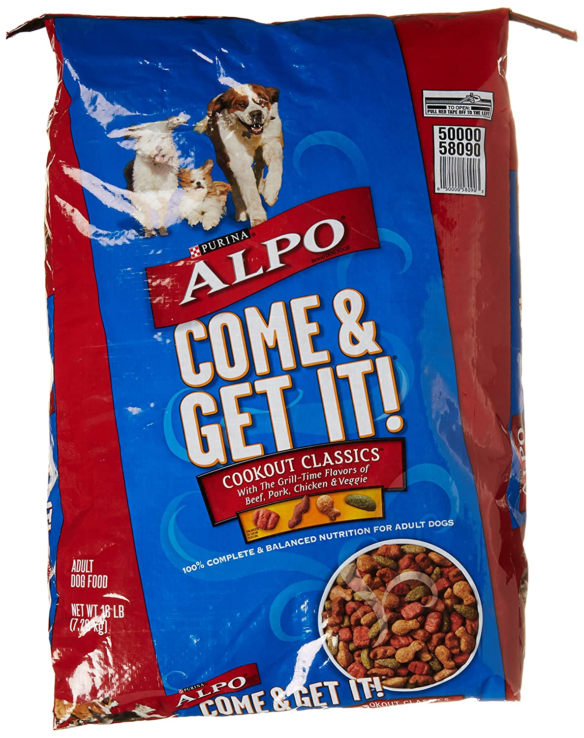 Alpo Dry Dog Purina Come N Get It, 16 lb
