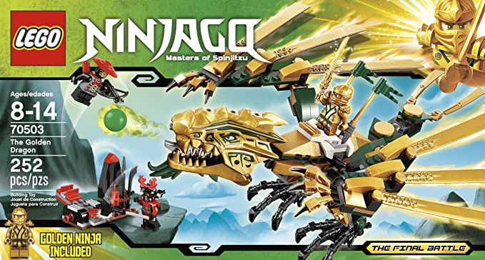 Amazon Lego Ninjago The Golden Dragon 70503 Discontinued By