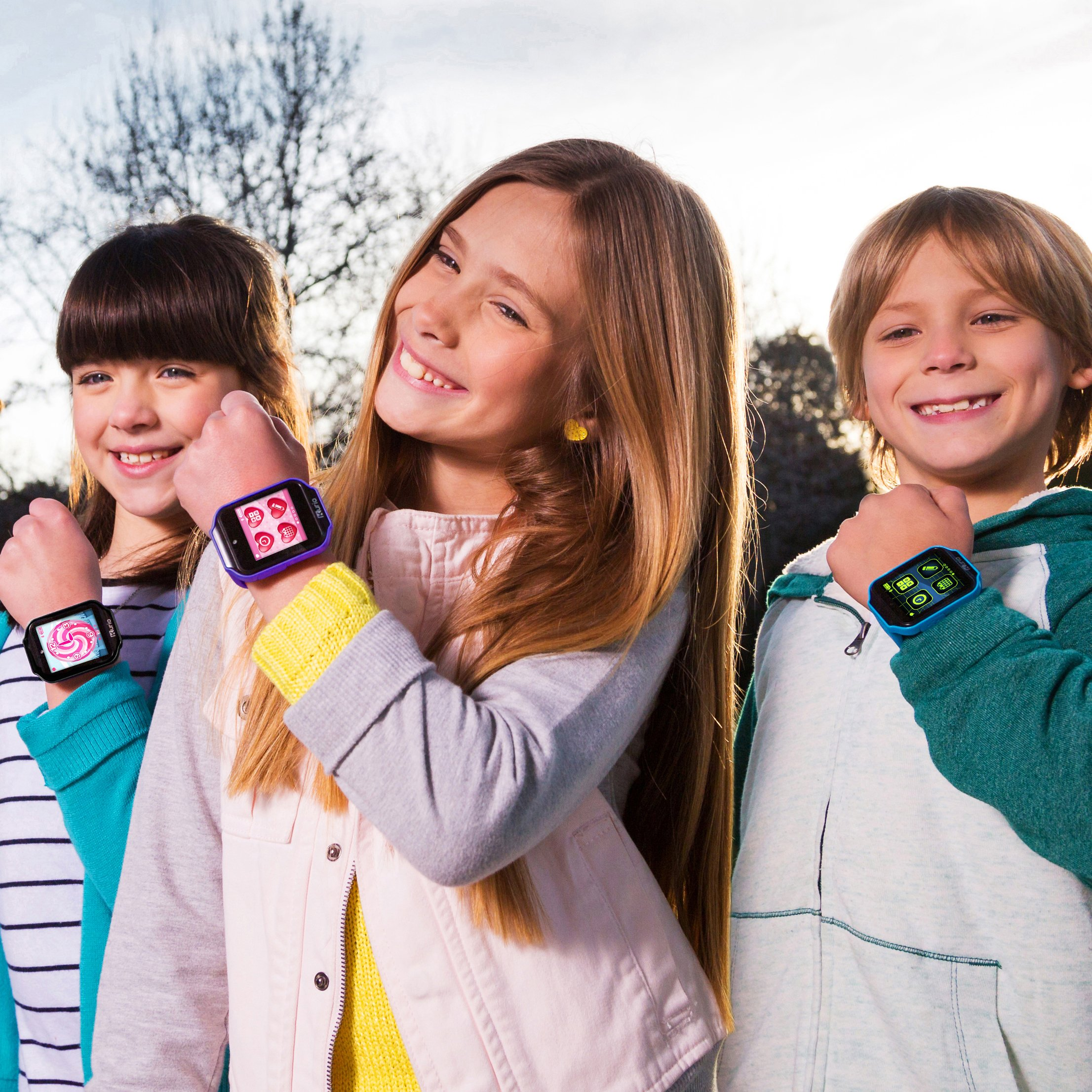 Kurio Watch 2.0+ The Ultimate Smartwatch Built for Kids with 2 Bands, Blue and Color Change by KD Interactive (Image #2)