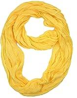 Plum Feathers Light Weight Silky Scrunch Infinity Loop Silk Cotton Scarf