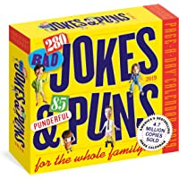 280 Bad Jokes & 85 Punderful Puns Page-A-Day Calendar 2019