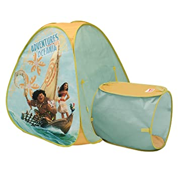 Playhut Disney Moana Hide about Play Tent  sc 1 st  Amazon.com & Amazon.com: Playhut Disney Moana Hide about Play Tent: Toys u0026 Games