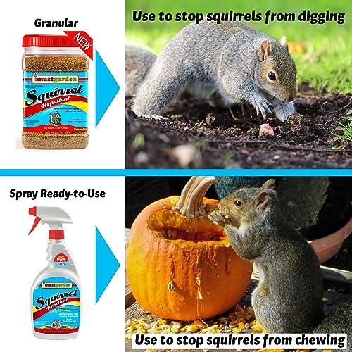 I Must Garden Squirrel Repellent