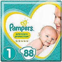 Pampers - New Baby, Dimensione pannolini 1 (2-5 kg) , Confezione da 2 pacchi