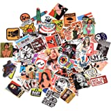 3Tyto Store Sticker 100 pcs Random Fashion Cartoon Waterproof Hard Hat, Tool Chest, Lunch Box ETC Stickers