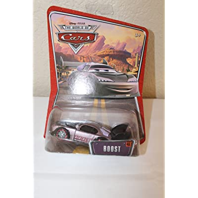 Mattel Disney Pixar Cars Boost Supercharged Edition 1:55 Scale: Toys & Games