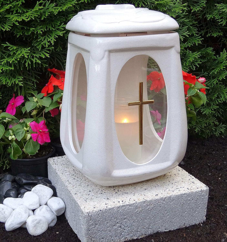 Grabgesteck Lanterne morts dimanche Orchidée la Toussaint Mémoire oeillets BR 9
