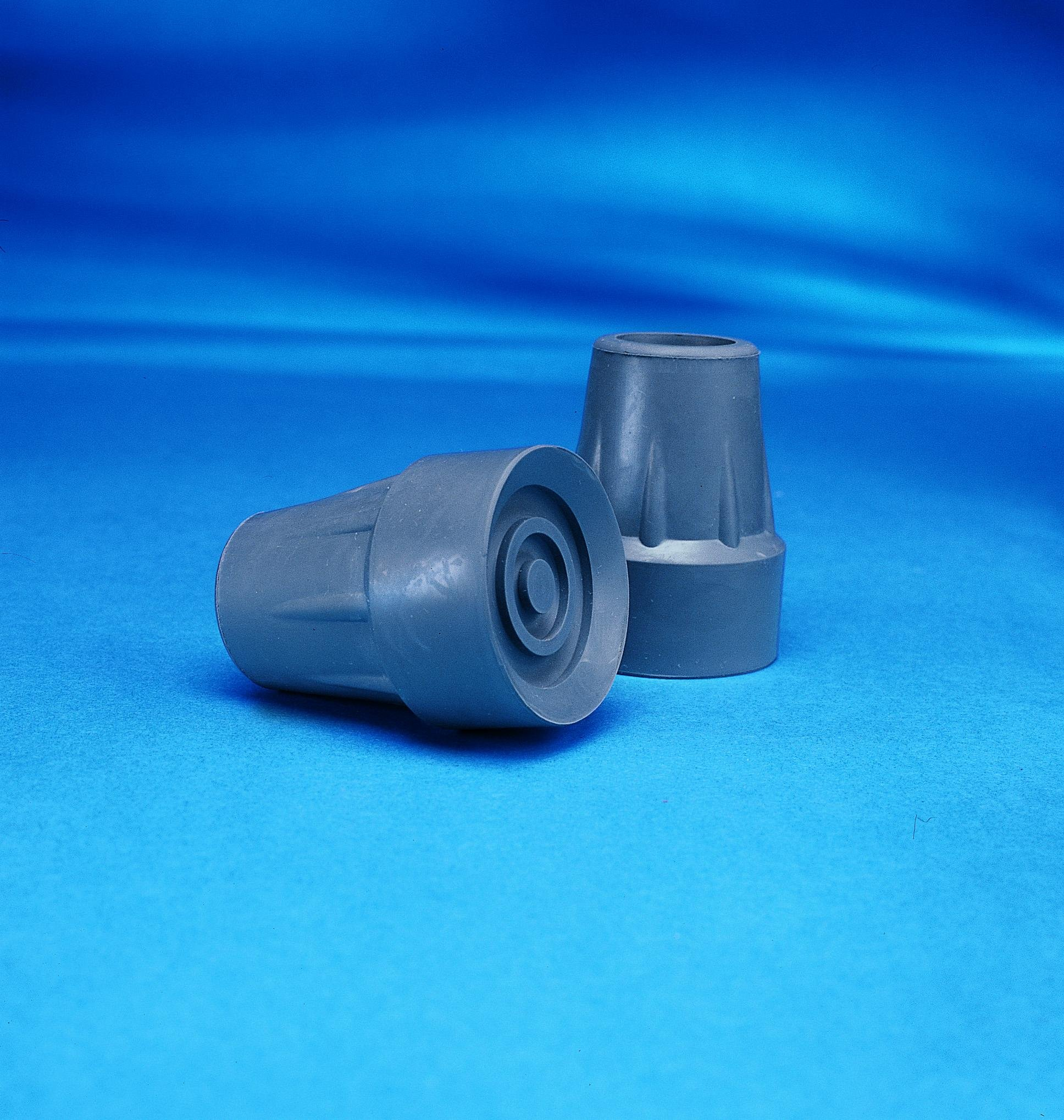 INV6134 - Rubber Crutch Tip, Large 1-3/4, Gray