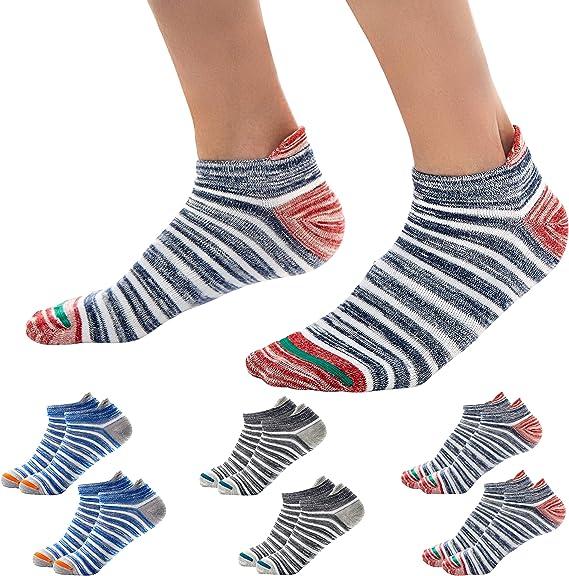 Okany Sportsocken Herren Damen Sneaker Socken Größe 37 47 Baumwolle Knöchel Laufsocken 68 Paar