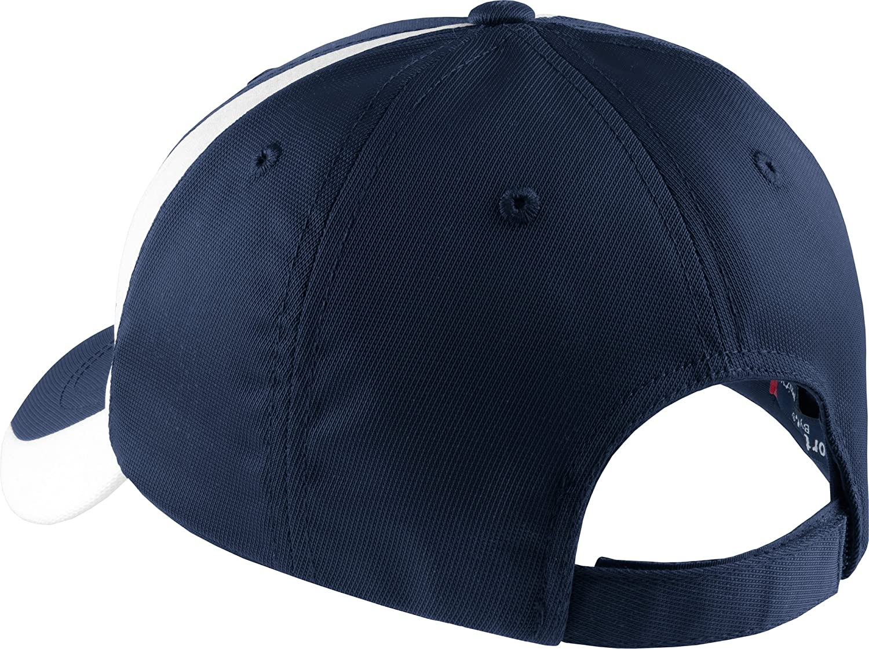Sport-Tek® Dry Zone® Nylon Colorblock Cap. STC11 Black/True Red ...