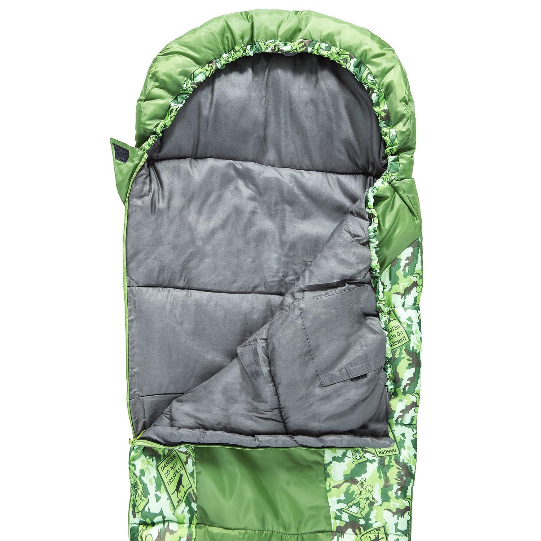 Trespass Bunka Saco de Dormir, Unisex niños, 165 x 60 x 40 mm: Amazon.es: Deportes y aire libre