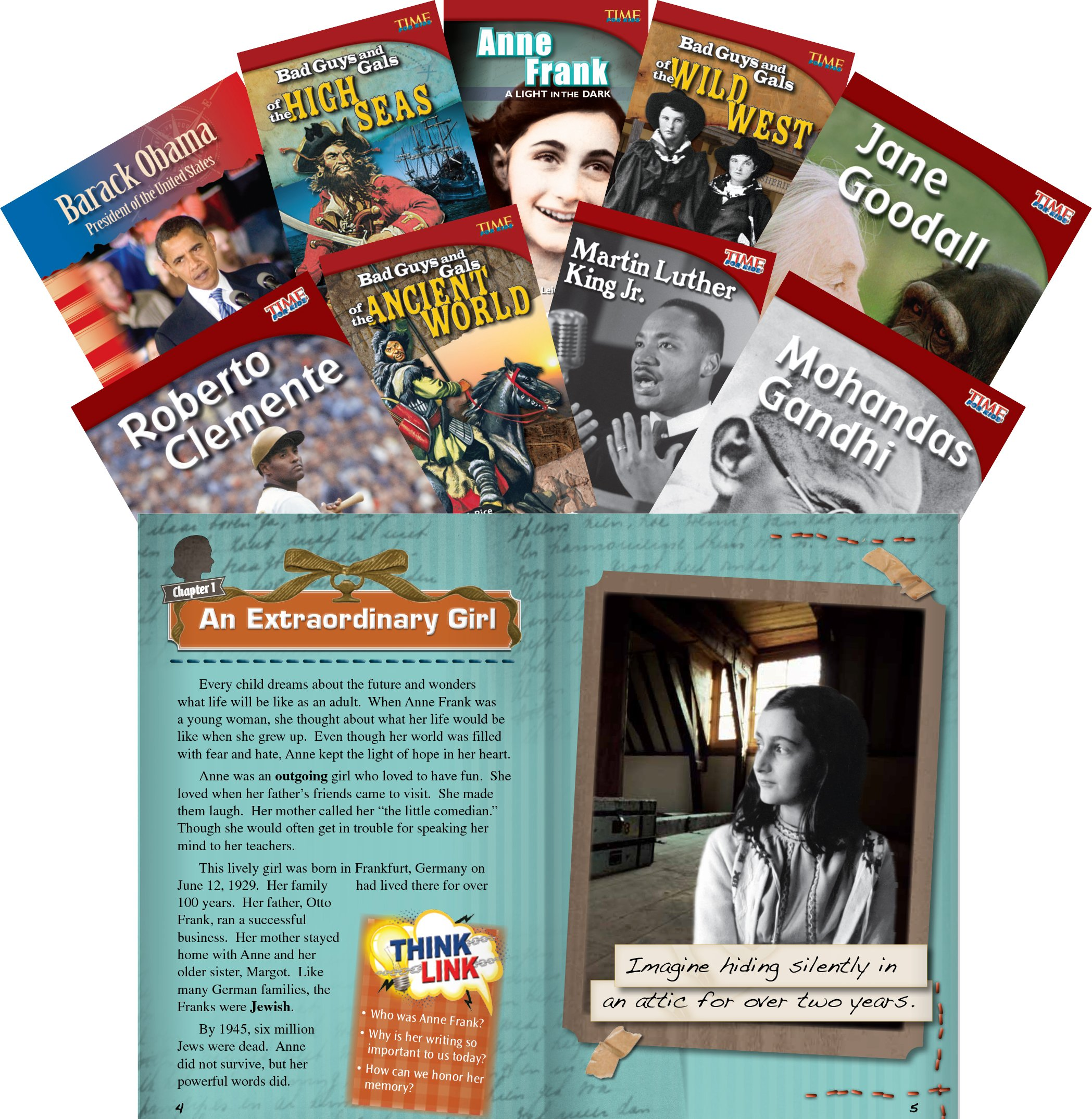 Biographies 9-Book Set (Classroom Library Collections)