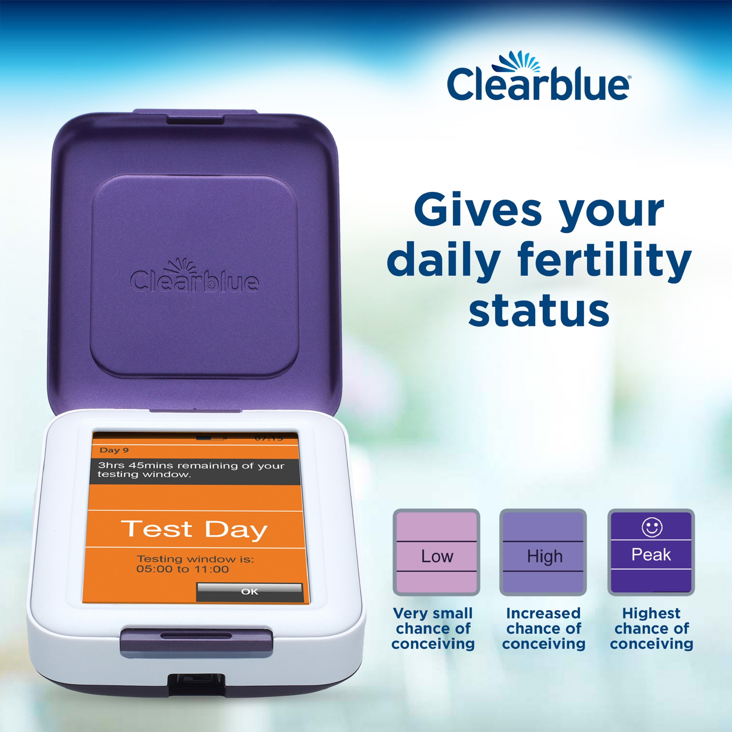 Clearblue Fertility Monitor, Touch Screen, Helps You Get Pregnant Faster by Clearblue (Image #5)