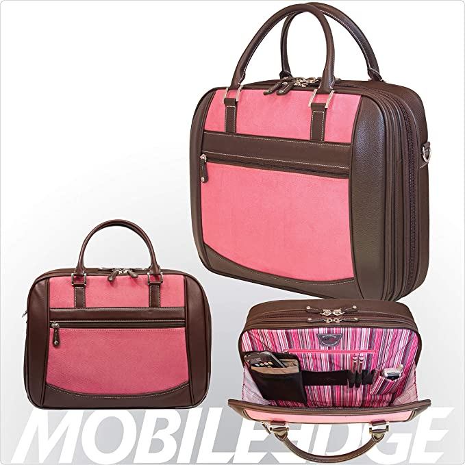 Replacement for Parts-MESFEBX Mobile Edge Pink Suede 16IN SCANFAST Element Briefcase
