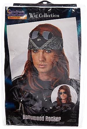 California Costumes Mens Hollywood Rocker Wig