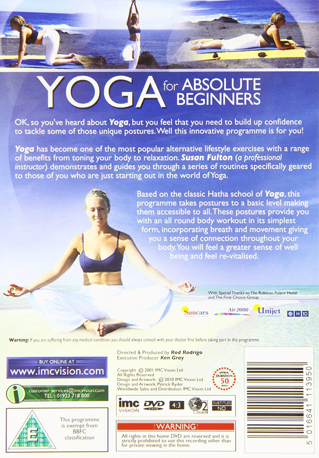 Yoga For Absolute Beginners - Hatha Yoga - Fit For Life ...