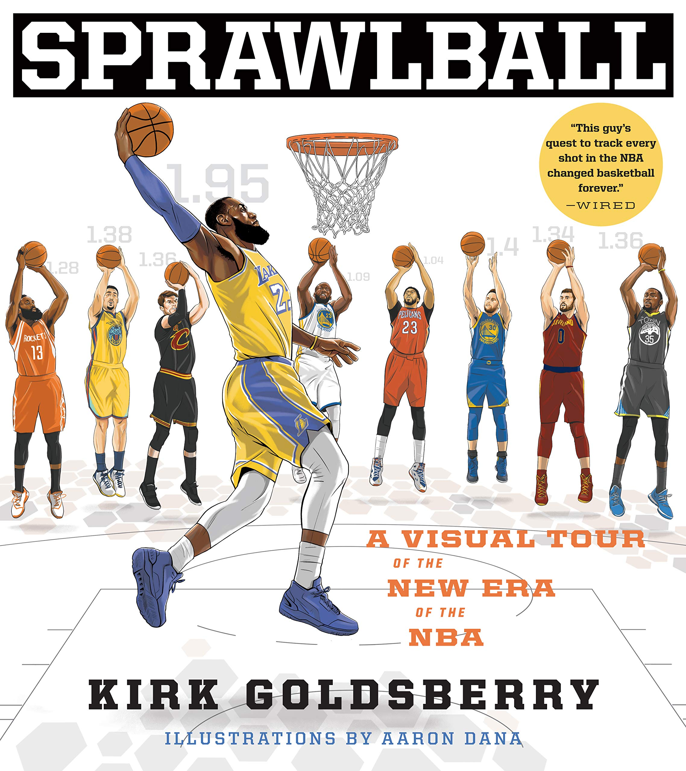 77f86d36521 Amazon.fr - SprawlBall  A Visual Tour of the New Era of the NBA ...