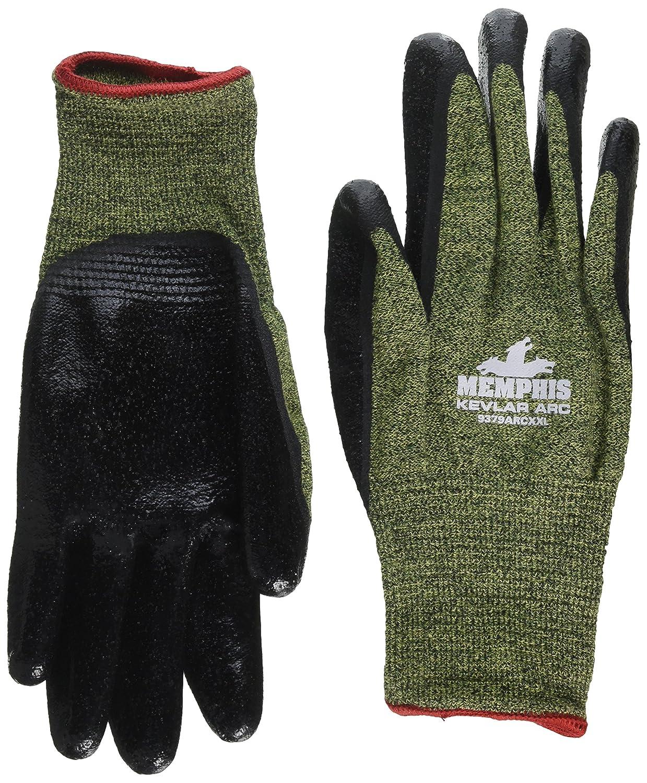 MCR Safety 9379ARCXXL HRC Level 1 APG Coated 13 Gauge Kevlar//Synthetic Fiber Memphis Arc Gloves 1 Pair 2X-Large