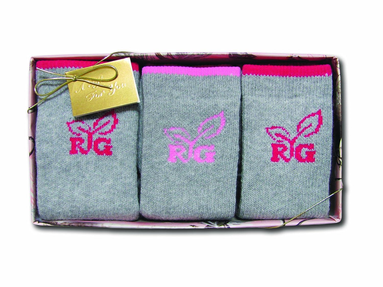 Realtree Girl Women's Socks Gift Box (3-Pair), Grey, Medium 3/9683