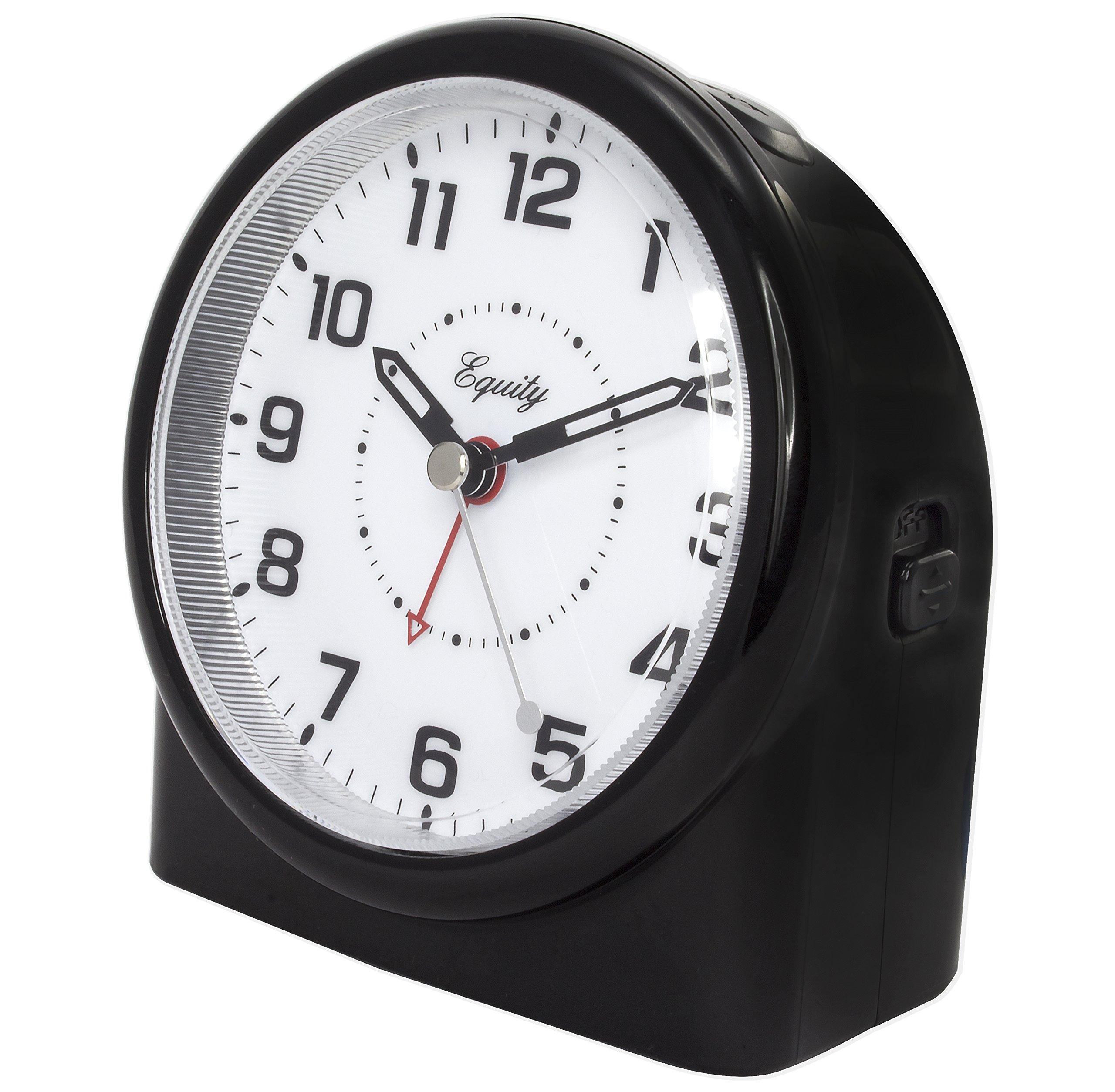 best equity analog night vision alarm clock 689719866833 ebay. Black Bedroom Furniture Sets. Home Design Ideas