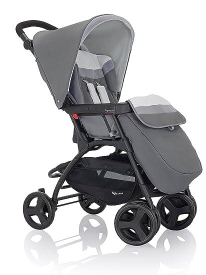 INGLESINA 80 F0t Sport carro expreso, Autorización para recién nacido, Super Compacto, incluye Capota, para la compra, red y protector de lluvia rojo ...