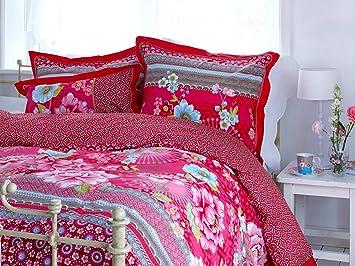 Pip Studio Bettwäsche Chinoise Pink 135x200 Cm 80x80 Cm Amazonde
