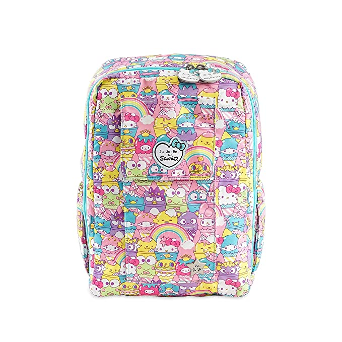 16d77a6ce9 Amazon.com  JuJuBe MiniBe Small Backpack Sanrio Collection - Hello ...