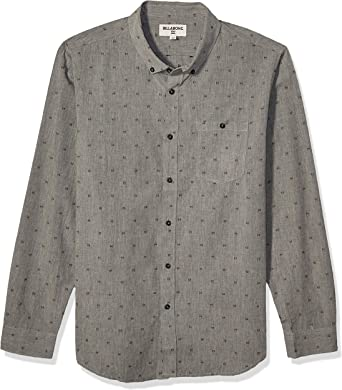 Billabong Mens All Day Jaquard Long Sleeve Shirt: Amazon.es ...