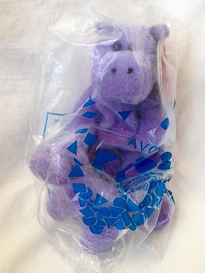 Amazon.com: Llavero, diseño de Hilda el hipopótamo Bean Bag ...
