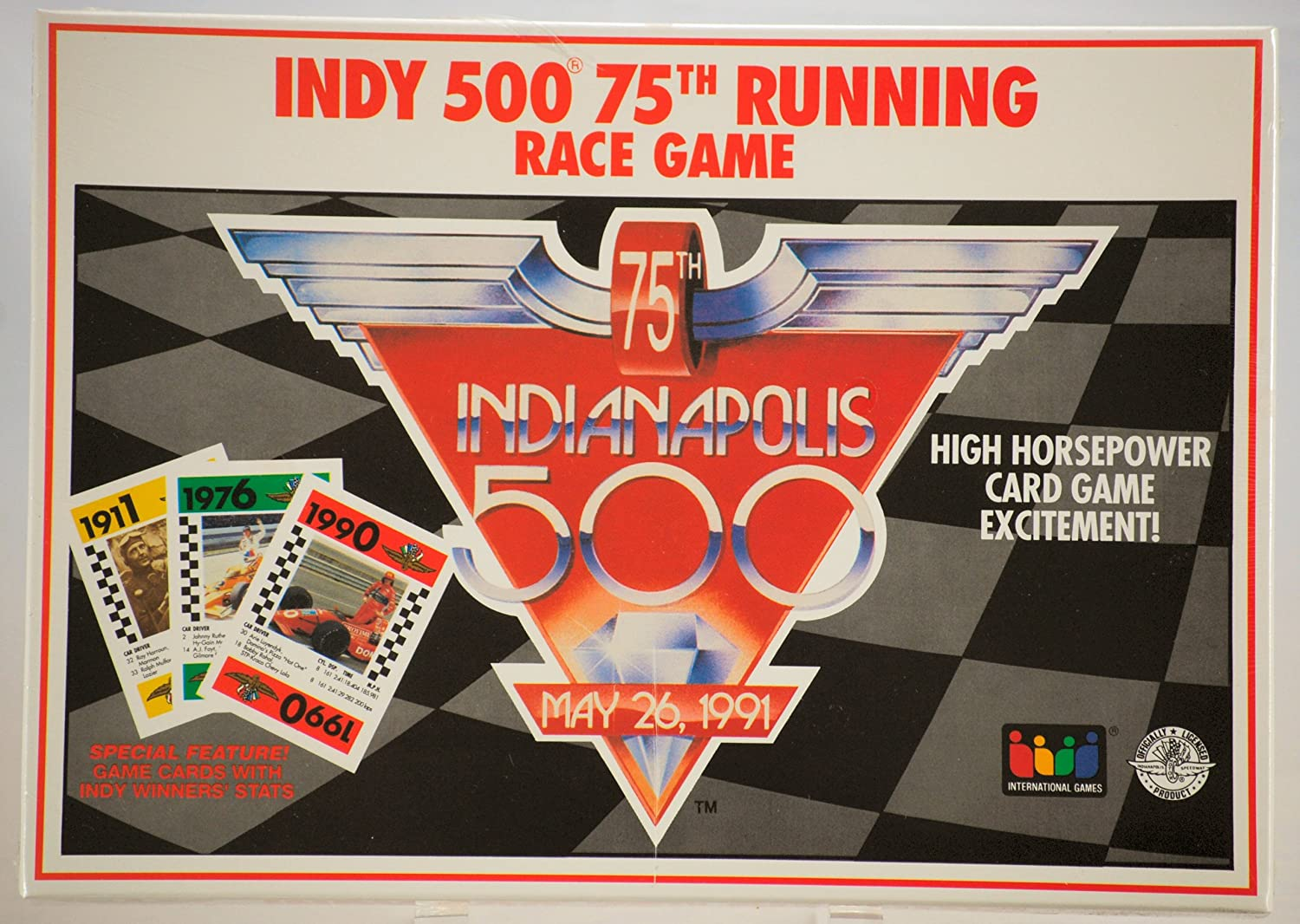 a precios asequibles Indy 500 75th Running Race Game by Indy Indy Indy 500  envio rapido a ti