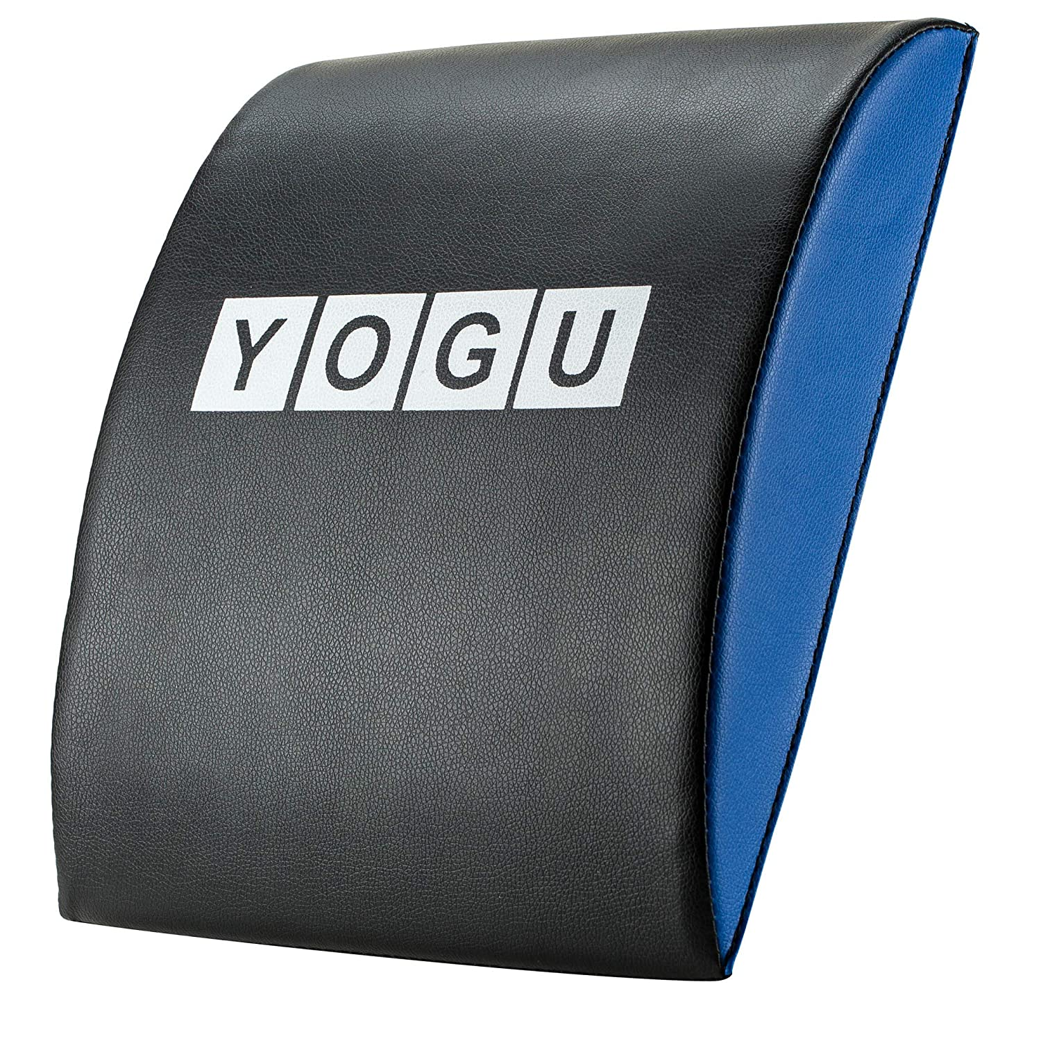 YOGU Ab Mat and Exercise Mat with or Without Tailbone Protecting Pad Abdominal Trainer Sit Ups Mat for Full Range of Motion Ab Workouts