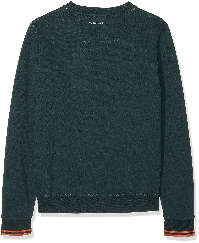 Hackett Hackett AMR CRW SWT Y, Sweat-Shirt Gar?on, (665green), Large (Taille Fabricant: 15 Ans)