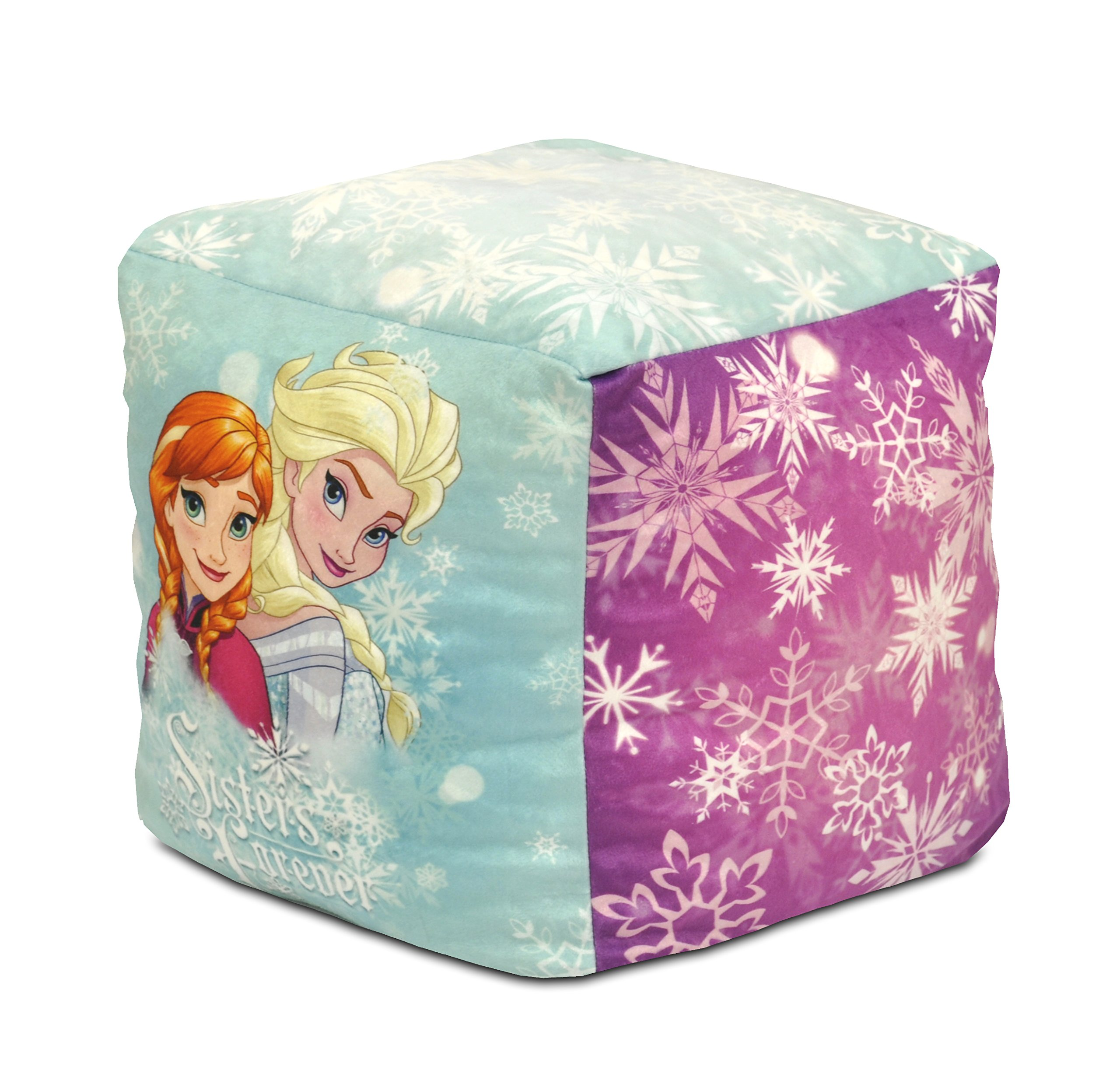 Disney Frozen Sisters Forever Square Pouf by Disney